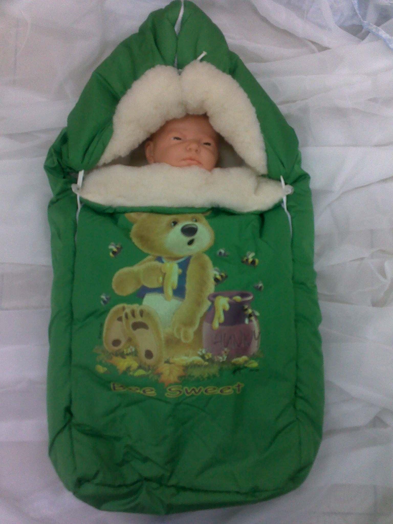 Сшить конверт меховой для новорожденных зимние своими руками